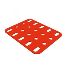 Flat plate, 4 x 5 holes