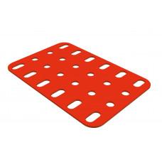 Flat plate, 4 x 6 holes