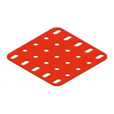 Flat plate, 5 x 5 holes