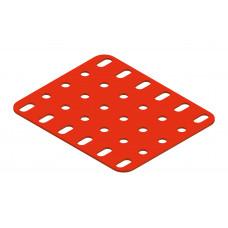 Flat plate, 5 x 6 holes