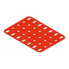 Flat plate, 5 x 7 holes