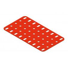 Flat plate, 5 x 9 holes