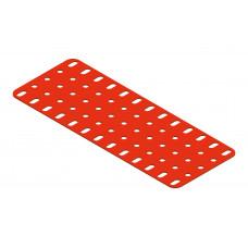 Flat plate, 5 x 13 holes