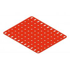Flat plate, 9 x 11 holes