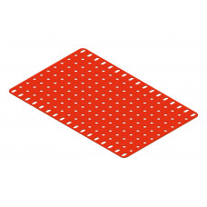 Flat plate, 11 x 17 holes