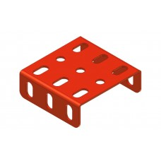 Flanged plate, 3 x 3 holes