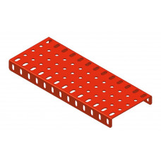 Flanged plate, 5 x 13 holes