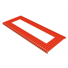 Flanged plate, 15 x 37 holes, with 7 x 29h extract
