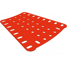 Flat sector plate, 5 to 7 holes, 8h long