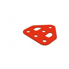 Flat trunnion, 5 holes