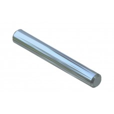 Axle rod, 30mm, steel, nickel-plated