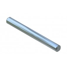 Axle rod, 40mm, steel, nickel-plated
