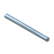 Axle rod, 50mm, steel, nickel-plated