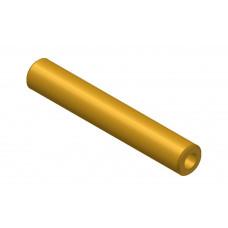 Hollow shaft, length: 50mm, brass, 4.1 and 8mm diameter