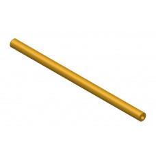 Hollow shaft, length: 150mm, brass, 4.1 and 8mm diameter