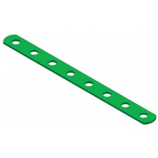 Narrow strip, 8 holes