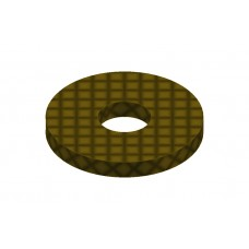 Perforated strip from phenolic resin, 1 hole