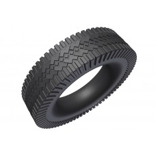 car tyre, 2\', rubber