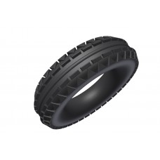 offroad tyre, 2\', rubber