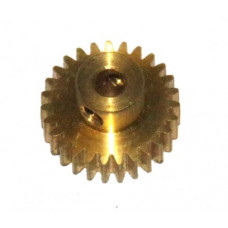 Pinion 28t; 38DPI; 6.35mm flank; 2 x M4 threads
