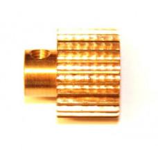Pinion 25t; 38DPI; 12.70mm flank; 2 x M4 threads