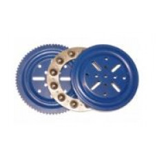 """Complete thrust bearing, 4\"""", Blue,  with 12 steel balls 10mm"""