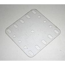 Transparent flexible plate, 5 x 5 holes