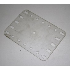 Transparent flexible plate, 5 x 7 holes
