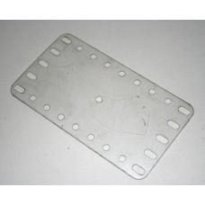 Transparent flexible plate, 5 x 9 holes