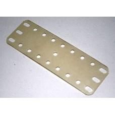 Transparent flexible plate, 3 x 9 holes