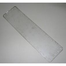 Transparent flexible plate, 5 x 19 holes