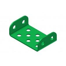 Flanged step, length: 3 holes