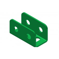 U-section angle girder, 2 holes