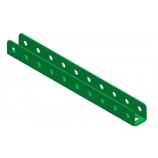 U-section angle girder, 10 holes