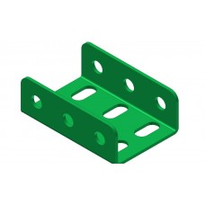 Double U-section angle girder, 3 holes