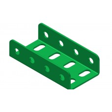 Double U-section angle girder, 4 holes