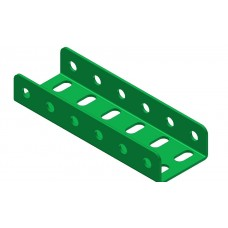 Double U-section angle girder, 6 holes