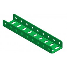 Double U-section angle girder, 9 holes
