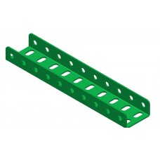 Double U-section angle girder, 10 holes