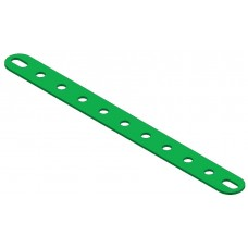 Perforated strip, slotted end, 11 holes