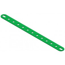 Perforated strip, slotted end, 13 holes