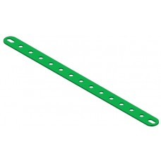 Perforated strip, slotted end, 15 holes