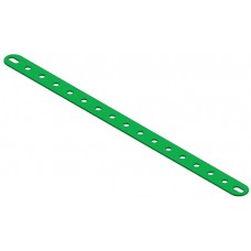 Perforated strip, slotted end, 17 holes