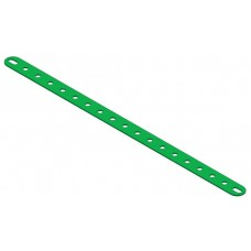 Perforated strip, slotted end, 19 holes