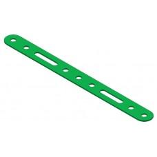 Perforated strip, 2 x rh, ss, 3 x rh, ss, 2 x rh, length:9 holes