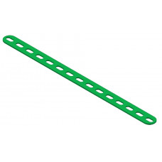 Short slotted strip, 15 short slots