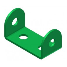 Double angle strip, width: 2 holes, standard