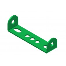 Double angle strip, width: 4 holes, standard