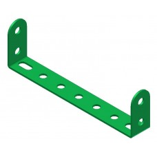 Double angle strip, width: 7 holes, double
