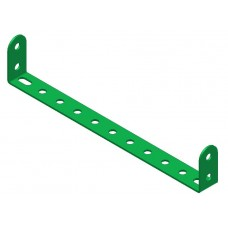 Double angle strip, width: 11 holes, double